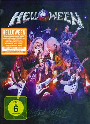 Helloween - United Alive (Digipack, Schuber, Limited Edition, 2 Blu-rays)