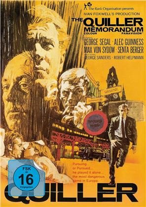 The Quiller Memorandum (1966) (Orange, Limited Edition, Mediabook)