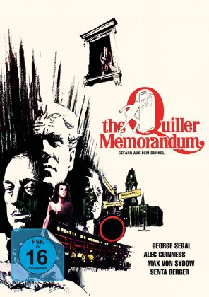The Quiller Memorandum (1966) (Weiss-Schwarz, Limited Edition, Mediabook)