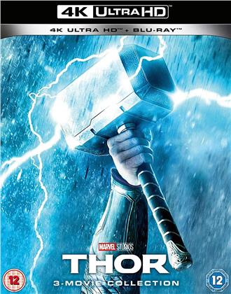 Thor 1-3 - 3-Movie Collection (3 4K Ultra HDs + 3 Blu-rays)