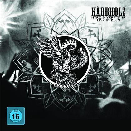 Kärbholz - Herz & Verstand - Live in Köln (Limited, Papersleeve Limited Edition, 3 LPs + DVD)