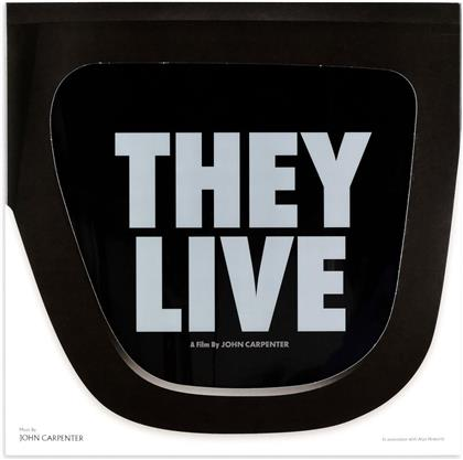 John Carpenter & Alan Howarth - They Live - OST (2019 Reissue, Deluxe Gatefold Edition, Remastered, LP)