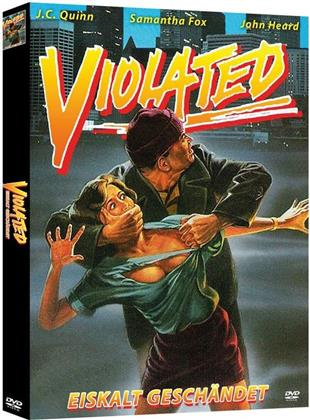 Violated - Eiskalt geschändet (1984) (Cover A, Limited Edition, Mediabook, Uncut, Blu-ray + 2 DVDs)