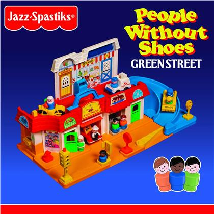 Jazz Spastiks & People Without Shoes - Green Street (Deluxe Box Edition, Deluxe Edition, Colored, 2 LPs)