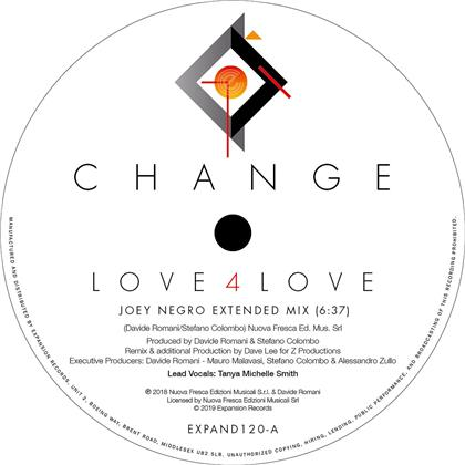 Change - Love 4 Love / Make Me (Go Crazy) - Remixes (LP)