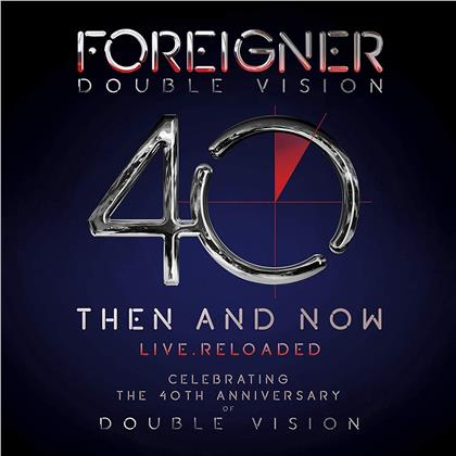 Foreigner - Double Vision: Then And Now (CD + Blu-ray)