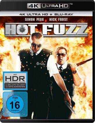 Hot Fuzz (2007) (4K Ultra HD + Blu-ray)