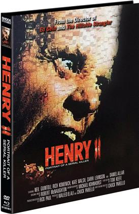 Henry 2 - Portrait of a Serial Killer (1996) (Cover C, Limited Edition, Mediabook, Blu-ray + DVD)