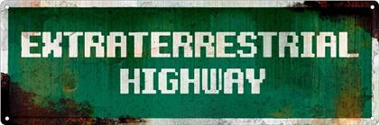 Extraterrestrial Highway - Slim Tin Sign