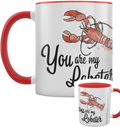 Friends - You Are My Lobster - Red Coloured Inner Mug