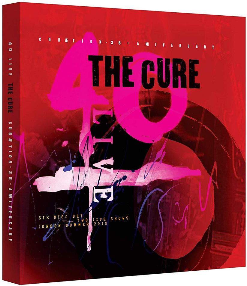 The Cure - Curaetion 25 - Anniversary (Limited Boxset, 4 CD + 2 Blu-ray)