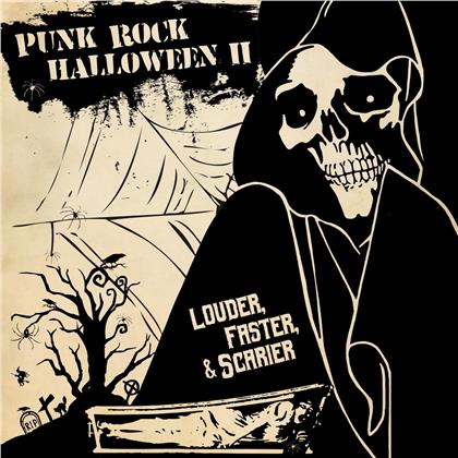 Punk Rock Halloween II - Louder Faster & Scarier (Orange Vinyl, LP)