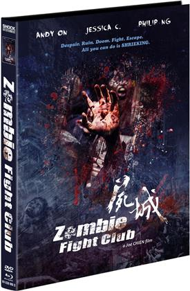 Zombie Fight Club (2014) (Cover D, Limited Edition, Mediabook, Uncut, Blu-ray + DVD)