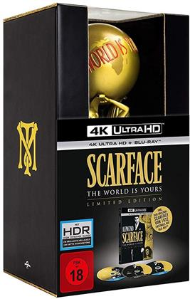 Scarface (1983) (Statue, Limited Edition, 4K Ultra HD + Blu-ray + DVD)