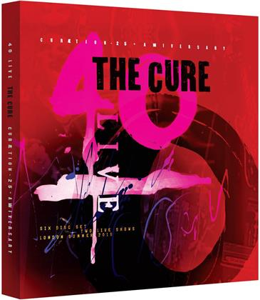The Cure - Curaetion 25 - Anniversary - Limited Edition (+ 4 CDs) (+ 40 seitigem Buch) [2 BRs]