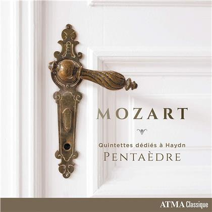 Pentaedre & Wolfgang Amadeus Mozart (1756-1791) - Quintettes Dedies A Haydn