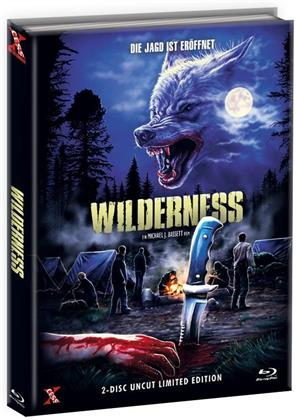 Wilderness (2006) (Cover C, Limited Edition, Mediabook, Uncut, Blu-ray + DVD)