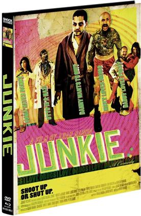 Junkie (2012) (Cover E, Limited Edition, Mediabook, Uncut, Blu-ray + DVD)