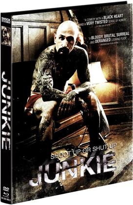 Junkie (2012) (Cover D, Limited Edition, Mediabook, Uncut, Blu-ray + DVD)