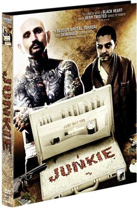 Junkie (2012) (Cover A, Limited Edition, Mediabook, Uncut, Blu-ray + DVD)
