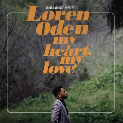 Loren Oden - Adrian Younge Presents Loren Oden My Heart My Love (LP)