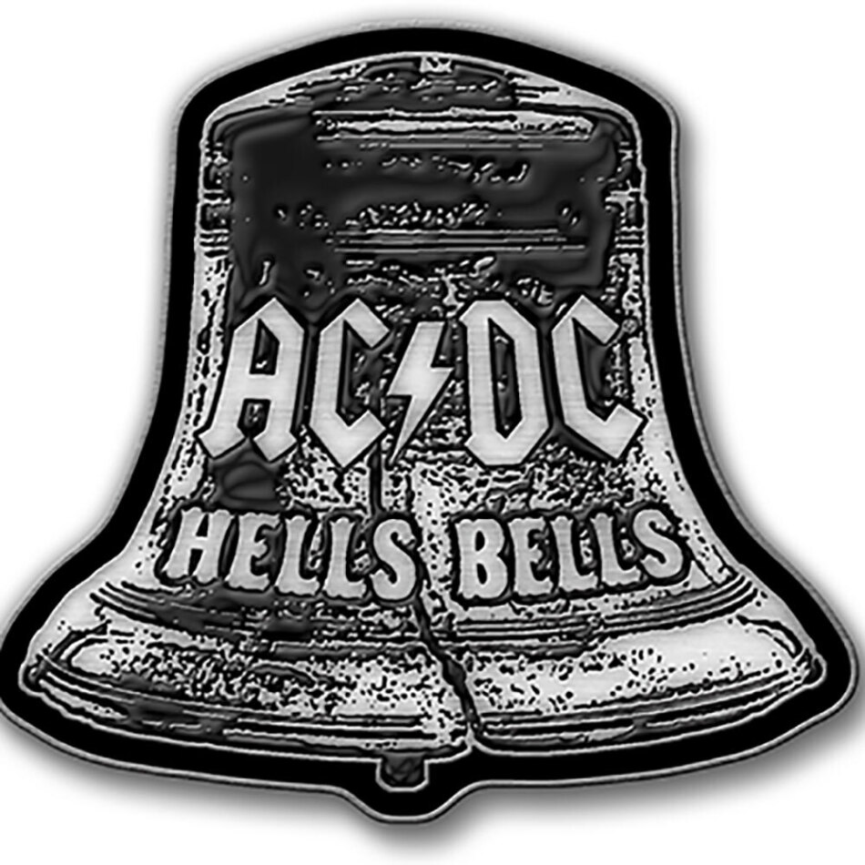 AC/DC - Hells Bells Pin Badge