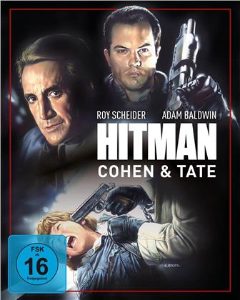 Hitman - Cohen & Tate (1988) (Cover A, Mediabook, Blu-ray + 2 DVDs)