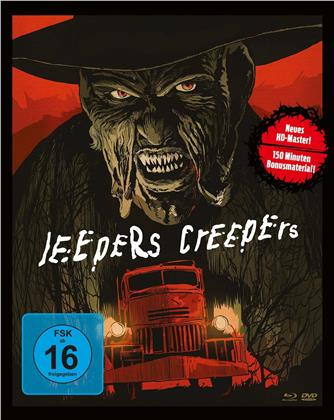 Jeepers Creepers (2001) (Mediabook, Blu-ray + 2 DVDs)