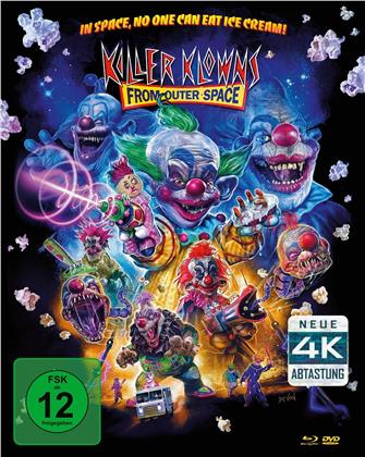 Killer Klowns (1988) (4K Mastered, Mediabook, Blu-ray + 2 DVDs)