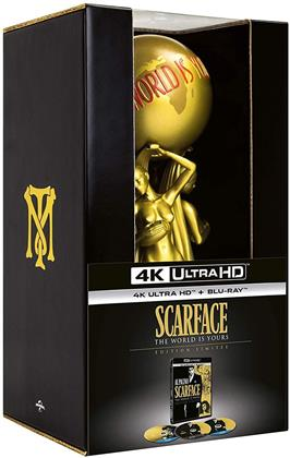 Scarface (1983) (Statue, Limited Collector's Edition, 4K Ultra HD + 2 Blu-rays)