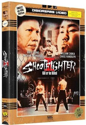Shootfighter 2 - Kill or be Killed (1996) (VHS-Edition, Edizione Limitata, Mediabook, Uncut, 2 Blu-ray + 2 DVD)