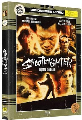 Shootfighter - Fight to the Death (1993) (VHS-Edition, Edizione Limitata, Mediabook, Uncut, 2 Blu-ray + 2 DVD)