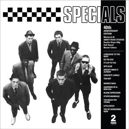 The Specials - --- (2019 Reissue, Half Speed Master, 40th Anniversary Edition, 2 LPs)