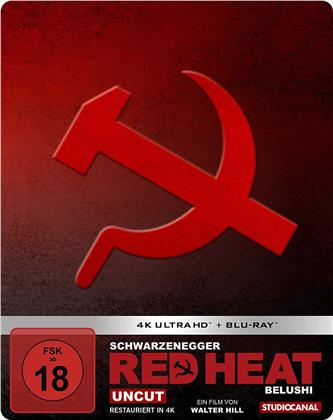 Red Heat (1988) (Edizione Limitata, Steelbook, Uncut, 4K Ultra HD + Blu-ray)