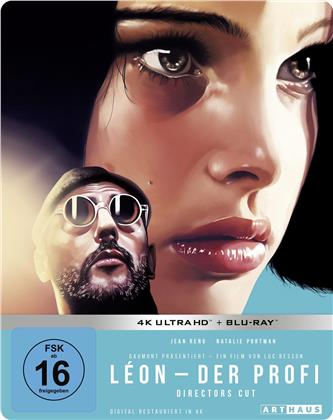 Leon - Der Profi (1994) (Director's Cut, 25th Anniversary Limited Edition, Steelbook, 4K Ultra HD + Blu-ray)