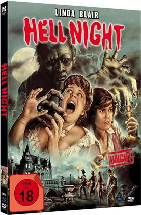 Hell Night (1981) (Limited Edition, Mediabook, Uncut, Blu-ray + DVD)