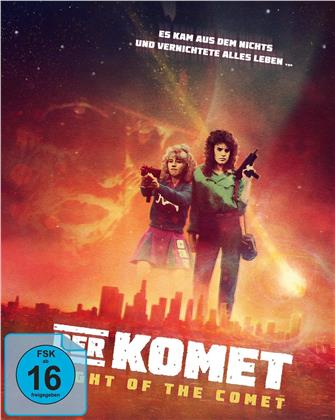 Der Komet - Night of the Comet (1984) (Cover A, Mediabook, Blu-ray + DVD)