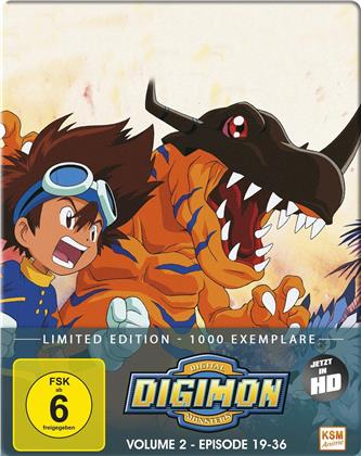 Digimon: Digital Monsters - Adventure - Staffel 1 - Vol. 2 (Edizione Limitata, 2 Blu-ray)