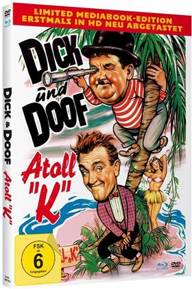 Dick und Doof - Atoll K (1951) (Limited Edition, Mediabook, Blu-ray + DVD)
