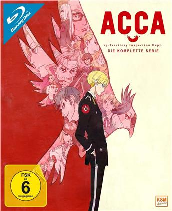 ACCA: 13-Territory Inspection Dept. - Die komplette Serie (Gesamtedition, 3 Blu-rays)