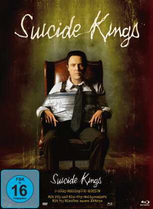 Suicide Kings (1997) (Limited Edition, Mediabook, Blu-ray + DVD)