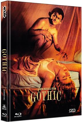 Gothic (1986) (Cover C, Limited Edition, Mediabook, Blu-ray + DVD)