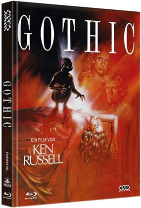 Gothic (1986) (Cover D, Limited Edition, Mediabook, Blu-ray + DVD)