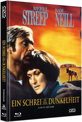 Ein Schrei in der Dunkelheit (1988) (Cover B, Limited Edition, Mediabook, Blu-ray + DVD)