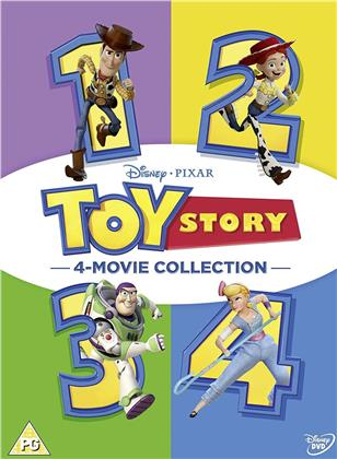Toy Story 1-4 - 4-Movie Collection (4 DVDs)