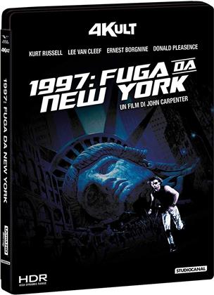 1997 Fuga da New York (1981) (4Kult, 4K Ultra HD + Blu-ray)
