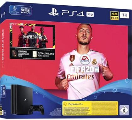 PlayStation 4 Pro - Konsole (1TB) inkl. FIFA 20 (German Edition)