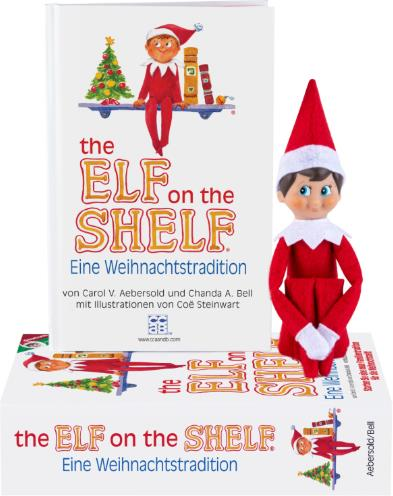 The Elf on the Shelf – Boy Light - Deutsche Version