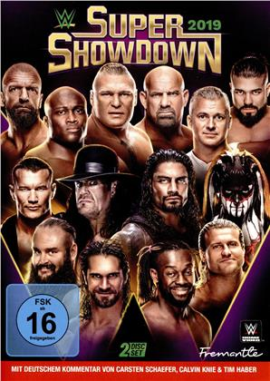 WWE: Super Showdown 2019 (2 DVDs)