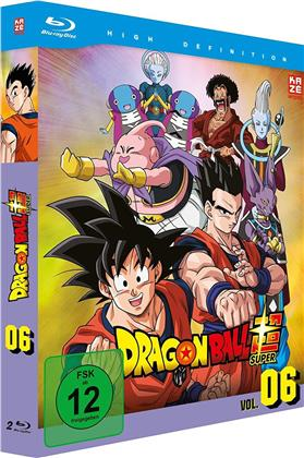 Dragon Ball Super - Vol. 6: Arc 5 - Universum-Turnier (2 Blu-rays)